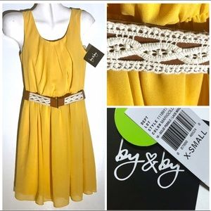 HOST PICK! NWT MSRP $59 Yellow Dress by & by